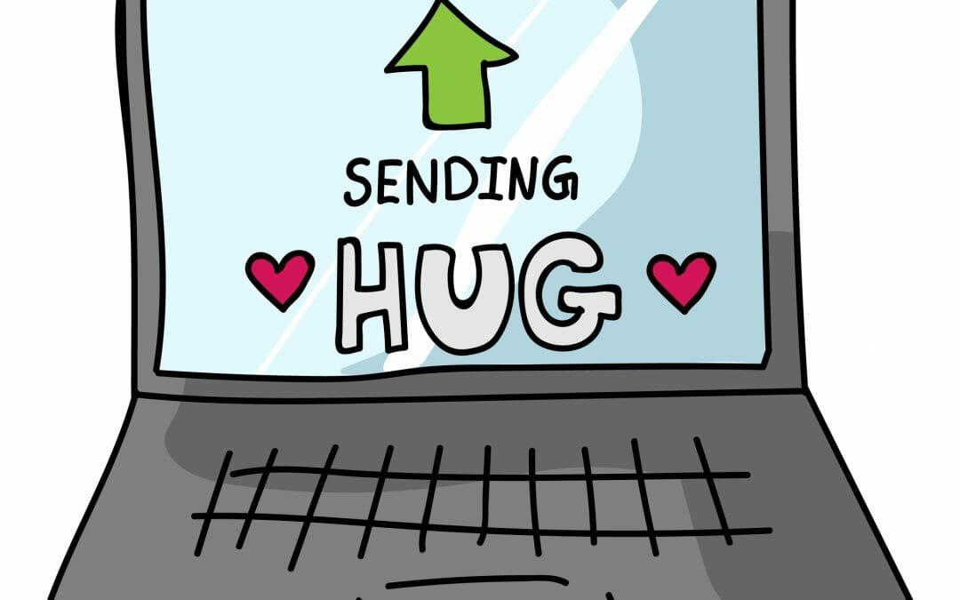 Virtual, Hug, Pandemic